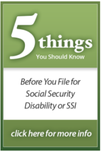 Five things you should know before hiring a Social Security Disability Attorney